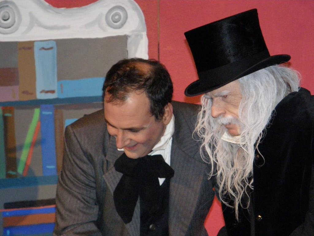 Scrooge and Cratchet