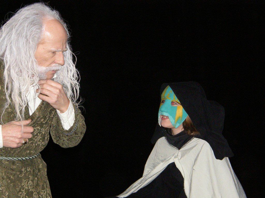 Scrooge And Child Ignorance